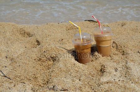 Un caffè freddo al mare... 40° ☕